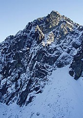 North face of Snoqualmie topo.