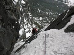 Finishing the Improbable Traverse.