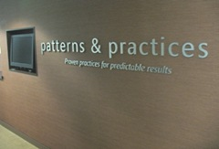 Click here to see the patterns & practices team rooms.