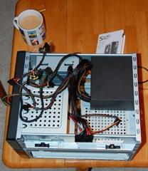 Never assemble a PC without tea!