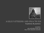 Patterns and Practices @ patterns & practices