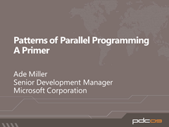 Patterns of Parallel Programming Primer