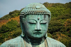 The giant budda at Kamakura.