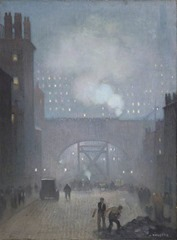 York Street Leading to Charles Street, Manchester by Adolphe Valette
