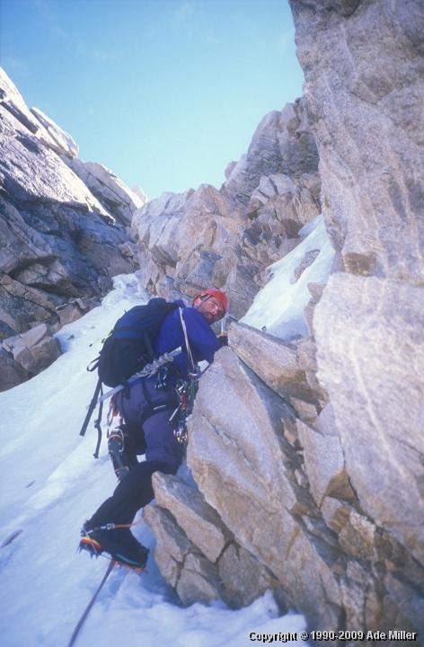 A previous climbing trip to Canada